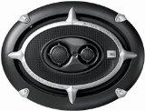 JBL T 696 l Car-Hifi High-End 3-Wege Lautsprecher (450 Watt, 93 dB) silber/schwarz