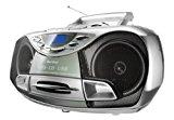 Karcher RR 510N Tragbares Stereo-CD-Radio (CD/MP3-Player, UKW-Radio, Kassette, MP3-Wiedergabe, 100 Watt (PMPO), USB 2.0) silber<ul><li>Tragbares Stereo-CD-Radio mit CD/MP3-Participant, Kassettendeck, USB-Anschluss und PLL-FM-Radio</li><li>Top-Loading CD-Player spielt CD, CD-R, CD-RW & MP3-CD</li><li>MP3-Wiedergabe über CD oder USB-Adhere mit ID3-Tag-Anzeige im Show (zeigt verfügbare Info zu Interpret, Album oder Titel)</li><li>Netz- oder Batteriebetrieb möglich – der stabile Tragebügel und die integrierte Antischockfunktion qualifizieren das CD-Radio zusätzlich für den mobilen Gebrauch</li><li>Lieferumfang: Tragbares CD-Radio, Netzkabel, Bedienungsanleitung</li></ul><p>RR 510 (N) Silber</p><p><div style=