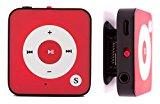 """BERTRONIC ® MP3-Player Everest Royal - Rot - Mini Musik Player mit Gürtel-Clip Funktion, microSD Steckplatz für Karten bis 32 GB, ohne internen Speicher - Akkulaufzeit bis zu 15 Stunden - Robustes Metallgehäuse<ul><li>Content: Robuster Metallrahmen und hochwertige Kunststoff-Vorderseite. Bis zu 15 Stunden Audio-Wiedergabe.</li><li>Praktischer Gürtelklipper & microSD Kartenslot für bis zu 32 GB Speicherkarten (nicht enthalten)</li><li>mit deutscher Anleitung und schnellem Kundenservice für weitere Fragen (auch am Wochenende!)</li><li>Inklusive Kopfhörer und USB-Kabel.</li><li>Bitte beachten Sie das BERTRONIC® eine geschützte Marke ist und nur von Bertronic vertrieben wird.</li></ul><p><b>Der neue Mini MP3 Player """"Everest Royal"""" von Bertronic, perfekt beim Sport dank langer Akkulaufzeit und festem Gürtelklipper.</b></p><p> <b>Anhänglich & Robust</b><br /> Das stabile Metallgehäuse und der praktische Gürtelklipper machen den MP3 Player zum perfekten Begleiter für Ihre sportlichen Aktivitäten.</p><p> <b>Akkulaufzeit & Aufladen des integrierten Akkus</b><br /> Hören Sie bis zu fifteen Stunden Musik ohne den Participant einmal an die Steckdose legen zu müssen. Über das mitgelieferte USB-Kabel ist der Player in nur ca. sixty – 70 Minuten wieder voll einsatzbereit.</p><p> <b>Einfach Musik hören</b><br /> Stecken Sie einfach ihre microSD – Karte in den Participant und verbinden Sie ihn mit dem Personal computer. Kopieren Sie Ihre Lieblingsmusik oder Hörbücher auf das Gerät. Schon kann es losgehen.</p><p> <b>Funktionsüberblick: </b></p><p> – Praktischer Gürtelklipper<br /> – Unterstützt die Wiedergabe von MP3 und WMA Dateien<br /> – Speicher (Intern/Extern): – / bis zu 32 GB MicroSD Karte (nicht enthalten)<br /> – Musik ist tremendous schnell bereit durch einfache """"Plug and Enjoy"""" Handhabung <br /> – Ladezeit nur ca. one Stunde<br /> – USB Anschluss: USB 2.<br /> – Materials: Metallrahmen und Kunststoff-Entrance</p><p> <b> Lieferumfang:</b><br /> – MP3 Participant Everest Roy"""