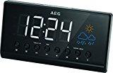 AEG MRC 4141 Uhrenradio mit Projektion<ul><li>Ca. 15,five cm großes Negativ-LED-Display</li><li>UKW-PLL-Radio mit 10 Stationsspeicher</li><li>2 Weckzeiten tagesindividuell einstellbar (täglich, werktags, Wochenende)</li><li>Einschlafautomatik (bis ninety Min.)</li><li>Lieferumfang:Uhrenradio</li></ul><p>AEG MRC 4141 P schwarz</p><p><div style=