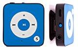 BERTRONIC ® MP3-Player Everest Royal - Blau - Mini Musik Player mit Gürtel-Clip Funktion, microSD Steckplatz für Karten bis 32 GB, ohne internen Speicher - Akkulaufzeit bis zu 15 Stunden - Robustes Metallgehäuse<ul><li>Material: Robuster Metallrahmen und hochwertige Kunststoff-Vorderseite. Bis zu 15 Stunden Audio-Wiedergabe.</li><li>Praktischer Gürtelklipper & microSD Kartenslot für bis zu 32 GB Speicherkarten (nicht enthalten)</li><li>mit deutscher Anleitung und schnellem Kundenservice für weitere Fragen (auch am Wochenende!)</li><li>Inklusive hochwertigen In-Ear Kopfhörer</li><li>Bitte beachten Sie das BERTRONIC® eine geschützte Marke ist und nur von Bertronic vertrieben wird.</li></ul><p><div style=