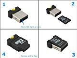 System-S Mini USB A Adapter für microSD / SDHC / T-Flash Karten Leser Card Reader Kartenlesegerät<ul><li>Abmessung: ca. ,seven cm x one,five cm x 2,2 cm</li><li>USB A Stecker</li><li>USB Adapter für microSD Karten</li><li>microSD/MicroSDHC Slot</li><li>Schneller Datentransfer mit bis zu 480 Mbit/s</li></ul><p>super praktischer (klein und handlich) USB Adapter für microSD Karten<br /> <br /> Egal, ob Sie Ihre microSD Karten dauerhaft zu einem USB Datenträger umfunktionieren, oder etwa nur kurz Daten von Ihrer Digitalkamera auf Personal computer oder Notebook kopieren wollen. Dieser Adapter ist sinnvoll und vielseitig.</p><p> – USB 2.<br /> – Klein und handlich<br /> – Schutzkappe<br /> – LED Funktionslicht<br /> – Haltevorrichtung für Halsband oder Schlüsselbund<br /> – Frustfreie Verpackung</p><p>Geeignet für:<br /> Mac OS<br /> Home windows ninety eight / 2000 / XP / Vista / Windows 7</p><p> Lieferumfang:<br /> USB Adapter für microSD Karten</p><p><div style=