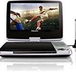 Philips PD9025/12 Tragbarer DVD-Player (23 cm (9 Zoll) LCD, DVB-T, USB,  DVD-RW) silber
