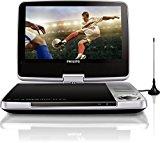Philips PD9025/12 Tragbarer DVD-Player (23 cm (9 Zoll) LCD, DVB-T, USB, DVD-RW) silber<ul><li>Portables DVD Technique mit 22cm Bilddiagonale</li><li>integrierter Fernsehempfang through DVB-T</li><li>Autoadapter und -montagetasche für eine einfache Verwendung im Automobile</li><li>USB Anschluss</li><li>Lieferumfang:Philips PD9025/twelve Tragb. DVD-Player, digit. Fernseher AC/DC-Adapte AV Kabel Fernbedienung Bedienungsanleitung Zigarettenanzünder-Adapter Antenne Automontagetasche</li><li>tragbares Gerät</li></ul><p><div style=