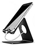 """Handy Halterung, Lamicall iphone Dock : Handyhalterung, Handy Halter, Phone Ständer, für HUAWEI iPhone 7 6 6s plus 5 5s, Samsung S3 S4 S5 S6 S7 Zubehör, Schreibtisch, E-Reader, andere Smartphone -Schwarz<ul><li>Design mit niedrigem Schwerpunkt: Unser Halter bietet Ihnen einen perfekten Sichtwinkel beim Movie-Chatten (z.B. FaceTime) und Movies schauen (z.B. Videos auf YouTube) an. Während der Batterieladung ihres Gerätes bleibt der Halter auch stabil stehend.</li><li>Gummierte Auflageflächen: Schutz vor Kratzern und Rutschen ihres Gerätes.</li><li>Kompatibilität: kompatibel mit 4 bis 8 Zoll Geräte wie z.B. HUAWEI, Iphone 6 Furthermore/7/7 Furthermore, iPad, Samsung Galaxy S7/S6, Samsung Be aware six/5, LG, Sony, und Nexus, wenn auch mit Schutzhüllen. Der Lamicall-Halter spielt eine wichtige Rolle in Ihrem Büro, Ihrer Küche und auf Ihrem Nachttisch.</li><li>Präzise Verarbeitung: Aluminium-Legierung, glatte Kante, geringes Gewicht, leicht tragbar hochkompatibel mit Iphone und Android-Handys.</li><li>Lebenslange Garantie: Wenn Sie nicht zufrieden mit dem Halter sind, wenden Sie sich jederzeit an uns. Sie erhalten Ihre Zahlung 100% zurück oder einen brandneuen Ersatz.</li></ul><p><b>Sonderpreis für eine begrenzte Zeit: <br />Hochkompatibel mit Apple iphone und Android-Handys</b></p><p>Neuer Stil: moderne Technologien<br /><b>Unser Lamicall-Halter hat zahlreiche optimistic Feedbacks von unseren KundInnen erhalten:</b><br /><b>– Farbe: Der Halter sieht in Wirklichkeit noch schöner als im Bild,</b> present day, schick, einfach.<br />– Qualität des Halters: Dieser Iphone-Halter ist aus Aluminium-Legierung mit guter Qualtität<b> umweltfreundliche Stoffe verbraucht.</b><br />– kleiner, feiner und tragbarer Handyhalter.<br />– Niedlicher """"Haken"""" und es gibt Gumminoppen auf der Unterseite des Handyhalters:<br /><b>1> Ihr Smartphone vor Kratzern schützen.<br />2> Ihr Smartphone vor Rutschen schützen.</b><br />– Dort, wo das Helpful liegt, ist breit genug, wenn auch mit einer <b>S"""