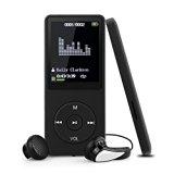 Swees 16GB MP3 Player Tragbare MP3 Musik Player mit FM Radio Funktion 70 Stunden Wiedergabe, inklusive kopfhörer und USB kabel, Schwarz <ul> <li>Bis zu 70 Stunden Audiowiedergabe bei voller Ladung, E-Buch, FM Radio, Recorder, Uhr, Bilder</li> <li>Verlustfreie Sound Qualität unterstützt folgende Formate: mp3, WMA, OGG, WAV)</li> <li>Der interne Speicher von 16GB kann mit einer microSD-Karte erweitert werden (bis 64GB), Bietet genug Platz für all Ihre Lieblingsmusik und spielt sie in leistungsstarker Soundqualität ab, Schnelles Aufladen (ca. 3-four Stunden)</li> <li>Elegantes und schlankes Style, liegt mit nur 30g Gewicht leicht in der Hand, Größe: 90mm x 39mm x 8mm</li> <li>Lieferumfang: 1x 16GB MP3-Participant, 1x USB Aufladekabel, 1x Kopfhörer, 1x Bedienungsanleitung</li> </ul> <p><b>Technical specs:</b><br /> Kapazität: 16GB<br /> FM Frequenz: 87.5MHz &#8211; 108.0MHz (87.0MHz &#8211; 108.0MHz)<br /> Integrierte wiederaufladbare Lithium-Batterie<br /> HighSpeed USB two. Übertragungsgeschwindigkeit<br /> Audio Anschluss: 3.5mm<br /> Supports music formats: MP3, WMA, OGG, WAV<br /> Farbe: Schwarz<br /> Größe: 90mm x 39mm x 8mm<br /> Unterstützte Sprachen: Englisch, Deutsch, Französisch, Italienisch, Holländisch, Portugiesisch, Spanisch, Russisch, and so on. </p> <p> <b>Lieferumfang:</b><br /> one X Swees 16GB MP3 player<br /> 1 X USB Kabel<br /> 1 X Kopfhörer<br /> 1 X Bedienungsanleitung </p> <p><div style=