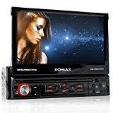 XOMAX XM-VRSU727BT Autoradio / Moniceiver + Monitor motorisiert + 18 cm / 7