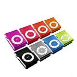 Mini MP3-Player inklusive Clip und Kopfhörer, Aluminium Gehäuse / Farbe: blau<div style=