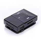 FEITONG Mini USB Clip Digitalen MP3 Player Musik Spieler Unterstützung 8 GB SD TF Karte (Schwarz) <ul> <li>Größe: four,8 cm x 3 cm x 1,five cm / one.87 &#8222;x 1,seventeen&#8220; x ,59 &#8222;.</li> <li>Materials: Metall. Kopfhörerbuchse: three,5-mm-Stereo-Jack.</li> <li>Stützsprache: Englisch, Chinesisch. Support two/four/eight Micro SD / TF-Karte (Gedächtnisse sind nicht enthalten)</li> <li>Wiedergabe von MP3-Musik. die MP3-Dateien von Ihrem Computer auf den MP3-Player einfach kopieren / einfügen.</li> <li>Build-in Li-Ionen-Akku, schließen direkt an Laptop für das Neuladen. Glatter stilvoller Entwurf in einem kompakten Gehäuse mit Clip. Kann auch als Micro SD / TF Kartenleser verwendet werden.</li> </ul> <p>Attribute: <br />one hundred% nagelneu. <br />Musik-Entzerrer: Natürlich, Pop, Rock, Klassik, Jazz, weich, DBB <br />Unterstützt USB two. / 1.1 </p> <p>Metallgehäuse. <br />Leicht zu irgendetwas zu Clip-on <br />Hinweis: Wegen des Unterschieds zwischen verschiedenen Monitoren, kann die Abbildung die tatsächliche Farbe des Einzelteils nicht reflektieren. Wir garantieren der Stil ist derselbe wie in den Abbildungen gezeigt. Vielen Dank! <br />HINWEIS: Nur MP3-Player, nicht nur inklusive Kopfhörer, USB-Kabel! </p> <p>Paket Inhalt: <br />one x MP3-Participant</p> <p><div style=