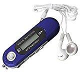 FEITONG 8 GB USB 2.0 Flash Drive LCD Mini MP3-Player Musik FM Radio Voice Recorder (Blau)<ul><li>Material: Kunststoff. Batterie: AAA-Batterie (nicht enthalten)</li><li>Musik-Format: MP1 MP2 MP3 WMA WMV ASF WAV. SNR:> 85dB.</li><li>USB: USB 2.0. Kopfhörerausgang : 3.5m. Mit UKW-Radio. Menge: 1 Stk</li><li>Der Lage sein, um es direkt zu verwenden als portable USB-Flash-Laufwerk, nur Ihre Dateien darin speichern.</li><li>Wiederholungsmodus : Normal, Wiederholung eine, Faltblatt, Ordner wiederholen, wiederholen alle, gelegentlich, Intro (spielen nur der Anfang eines jeden Musik)</li></ul><p>Paket Inhalt: <br />1 x-MP3-Player <br />1x geben 3,5 mm Kopfhörer (Standardgröße )</p><p><div style=