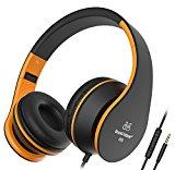Sound Intone I68 faltbarer On-Ear Kopfhörer Headset, Lautstärkeregelung, Mikrofon und 3,5 mm Klinkestecker für PC/ Smart Phone/Ipad/ Ipod(Schwarz/Orange)<ul><li>Gute und klare Klangqualität– ImBezugaufdieStarke TiefbassundkraftvollerSoundkann Lärmisolieren und Musik ohne Störung zu hören, damitSiesich besser entspannenkönnen</li><li>Faltbareund kompakte Bauweise – Damit kann man Ihn einfach irgendwo mitbringen. Mit dem weichen Kopfhörermuschelerreicht es bequemes Tragegefühl und filtert Umgebungsgeräusche für bessere Klangqualität</li><li>Ergonomische Design– Wegen des ergonomischenKomfort kann das Headset frei eingestellt werden. Verhedderungsfreies Kabel und Inline-Fernbedienung bieten mehrFlexibilität</li><li>Bequeme Kontrolle über Musik und Anrufe – die In-Line-Fernbedieung lässt Sie auf den meisten Smartphones die Musikwiedergabe (Engage in/Pause/Trackwechel) steuern sowie Anrufe annehmen und beenden</li><li>Headset mit Mikrofonund gutes Sound, können Sie damit Musik hören, chaten. Kompatibel mit Computer/ Intelligent Phone/ Iphone6/ Samsung/ Ipad/ Psp/ Ipod/ Mp3 Player/ Androidund so weiter</li></ul><p><b>Möchten Sie einen Kopfhörer mit gute Klangqualität bekommen?</b><br /> ♦Sound Intone I68 faltbarer ON-Ear Kopfhörer, mit Hifi-Stereo Klang entwirft speziell für Hören, dabei gentleman sich zu entspannen.<br /> Das Stirnband ist weich und mit ihrem Komfort ist der Kopfhörer intestine für lange zu tragen. <br /> ♦Die Ohrmuscheln geben einem eine hochwertige Erfahrung in Hörkomfort. Zusätzlich lassen diese aufeinander abgestimmte Farben den Kopfhörer sehr in und awesome.</p><p> <b>Eigenschaften: </b><br /> ♦Der Kabel wird immer keine Gewirr sein. Deshalb brauchen Sie nicht Zeit zu kosten, um Gewirre zu entwirren.<br /> ♦Zusammenklappbare Kopfhörer lässt sich irgendwo setzen und einfach tragen.<br /> ♦Machen Sie keine Sorge, wenn Sie beim Musikhören einen Anruf bekommen, können Sie mit dem liniensteueren Druckknopfbehandeln, ohne den Kopfhörer abzuheben. <br /> Z