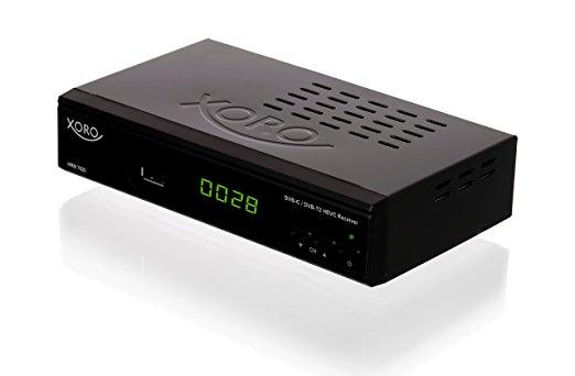 "Xoro HRM 7620 Full HD ""HEVC DVB-T/T2/C"" Kombi Receiver"