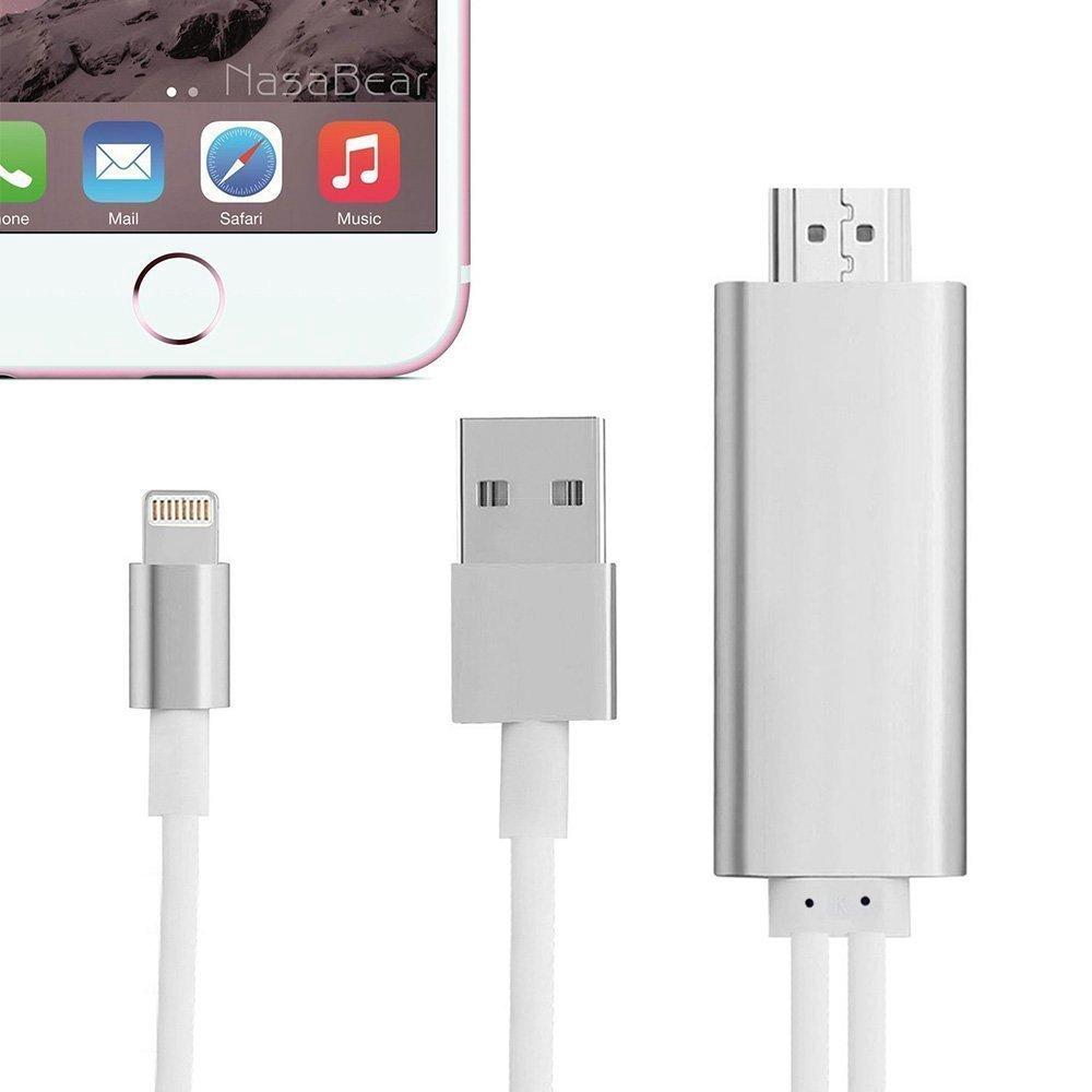 TUOYA Dock Lightning zu HDMI Schnittstellen kabel Verbindungsstück 1080P HDTV Adapter für iPhone 5