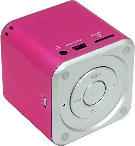 Mini Lautsprecher USB MicroSD Kartenleser