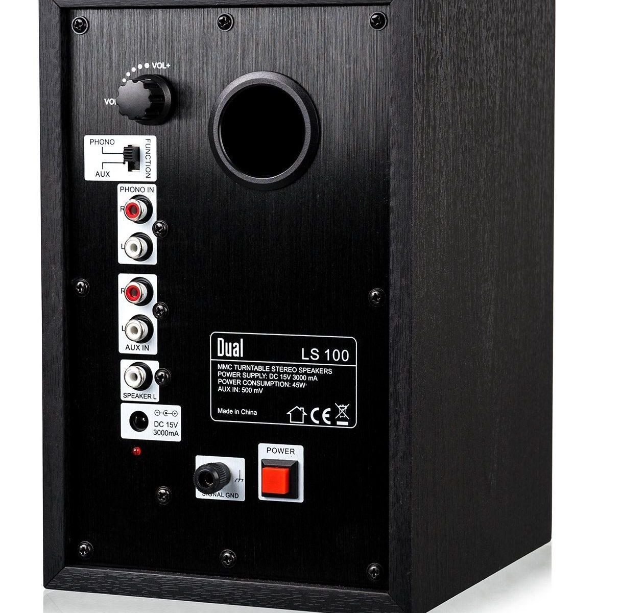 Dual LS 100 Aktiv-Lautsprecher Set