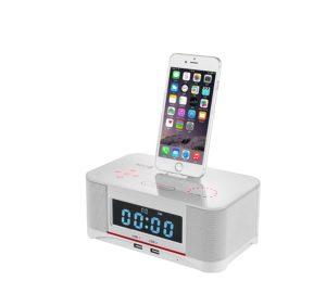 PowerLeadDigital Dual Alarm FM Uhr