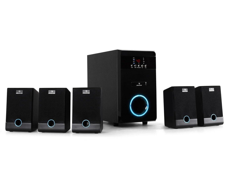 Auna Aktives 5.1 Surround Lautsprecher Boxen System