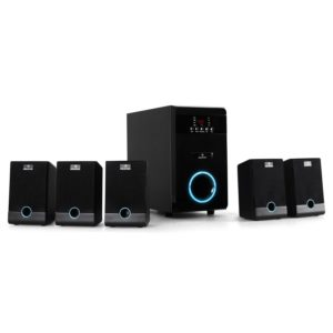 Auna Aktives 5.1 Surround Lautsprecher Boxen System