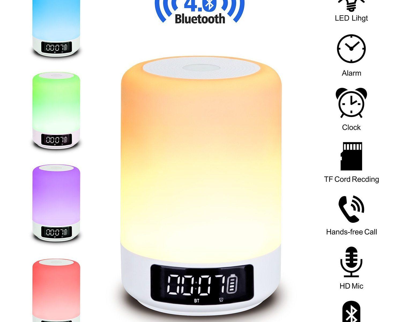 Beawelle Bluetooth Lautsprecher Lampe
