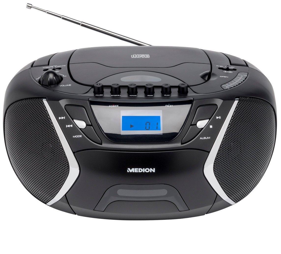 Medion Radiorekorder CD-Player mit MP3 Wiedergabe