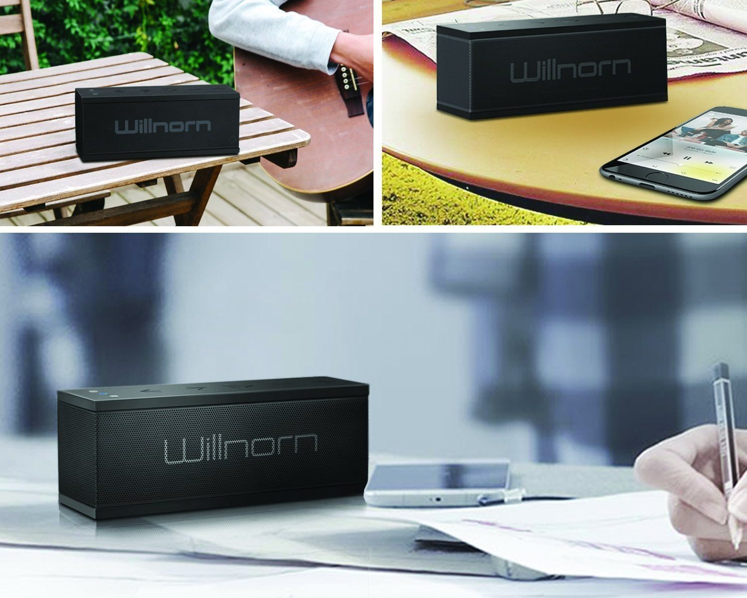 Willnorn Soundplus Bluetooth-Lautsprecher