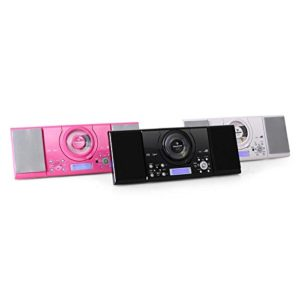 auna MC-120 - Stereoanlage - Kompaktanlage - Microanlage - MP3-fähiger CD-Player - UKW-Radiotuner