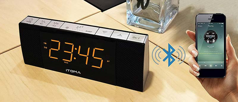 iTOMA Bluetooth Radio Wecker