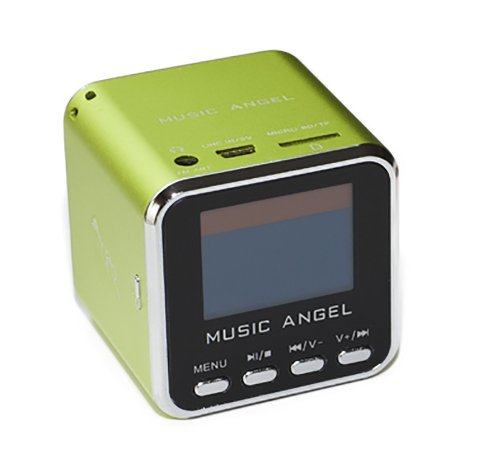 BLUEBD@ MUSIC ANGEL Mini Stereo Wecker & Radio