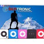 MP3-Player Royal BC05 – Clip, Sport, Fitness Player, 15 Stunden Wiedergabe, Kopfhörer, USB Kabel, mit microSD Kartenslot für bis zu 32 GB microSD Karten – gratis Silikonhülle – Pink von Bertronic