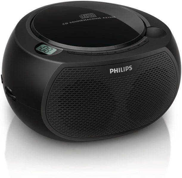 Philips AZ700T CD-Soundmachine (Bluetooth, NFC, USB Direct, 12 Watt) schwarz