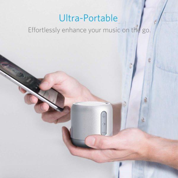 Mp3 Player Mirror Mini Clip Sport Spiegel Micro SD SDHC bis 32GB Musik Schwarz