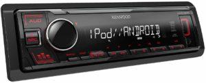 Kenwood KMM-205 USB-Autoradio mit RDS