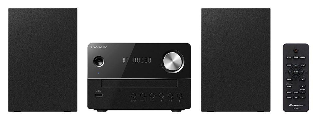 Pioneer X-EM26(B) Micro HiFi Anlage, (CD, MP3/WMA, FM Radio, 2 x 5 W Ausgangsleistung