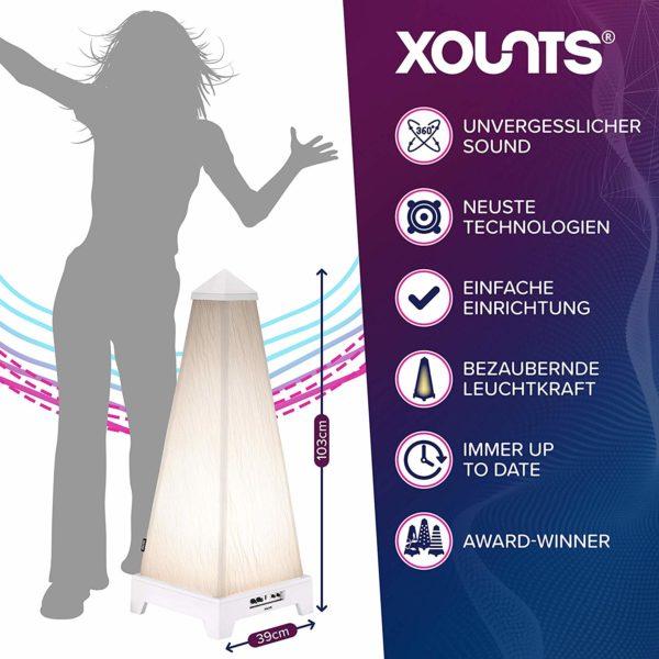 auvisio Lautsprecher, Bluetooth: 2.0-Soundsystem im Holzgehäuse, Bluetooth 3.0, Musik-Player, 60 Watt (Lautsprecher Aktiv)