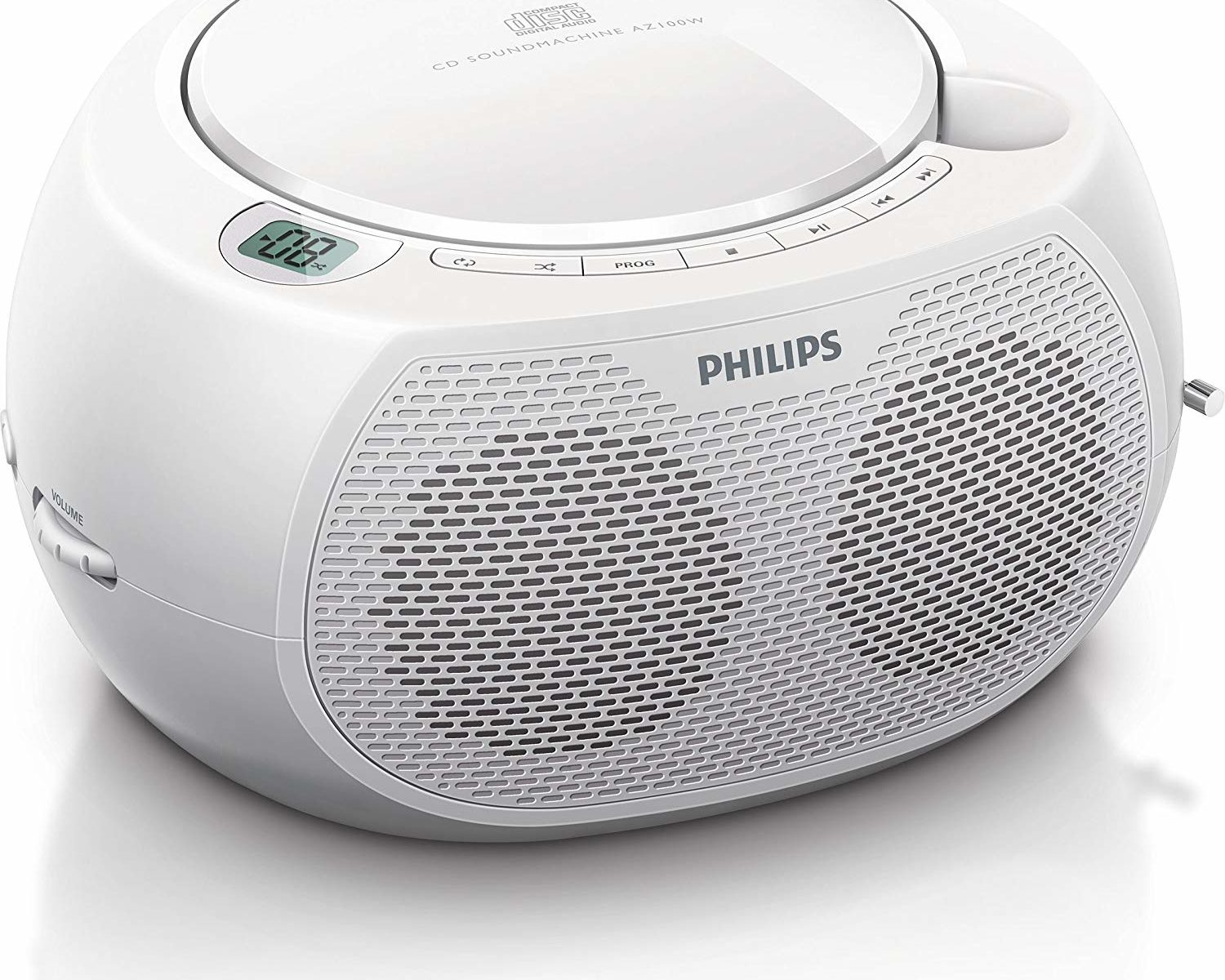 Philips CD-Player Weiß