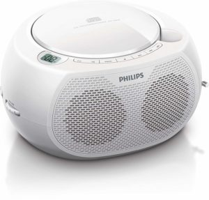 Philips CD-Player Weiß