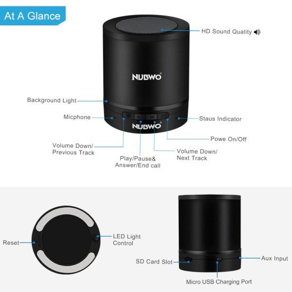 Kabelloser Bluetooth Lautspreche