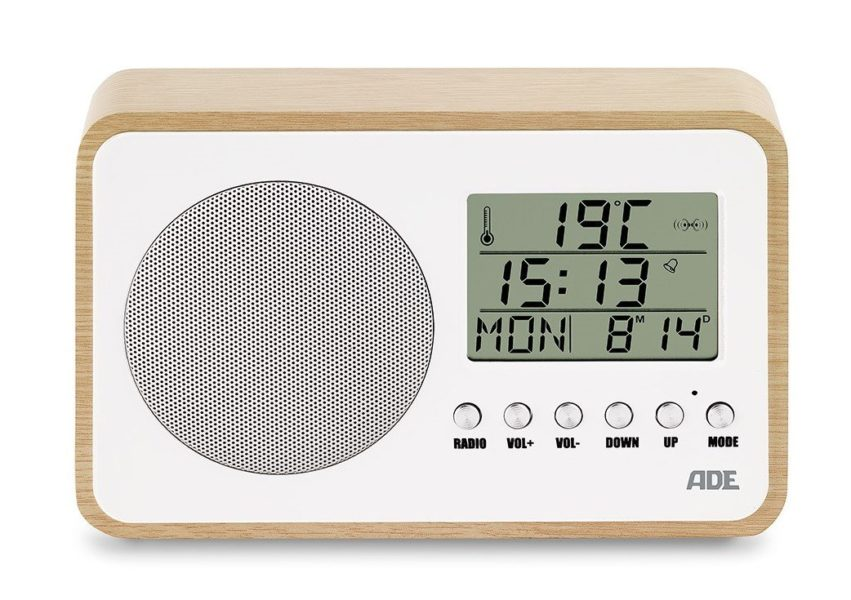 Digitaler Retro Radiowecker
