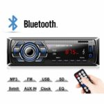 Kdely Autoradio mit Bluetooth Freisprecheinrichtung, Radio Tuner 1 Din, FM/USB/MP3/WMA/WAV/TF-Media Player/Fernbedienung, Single Din Universal Autoradio