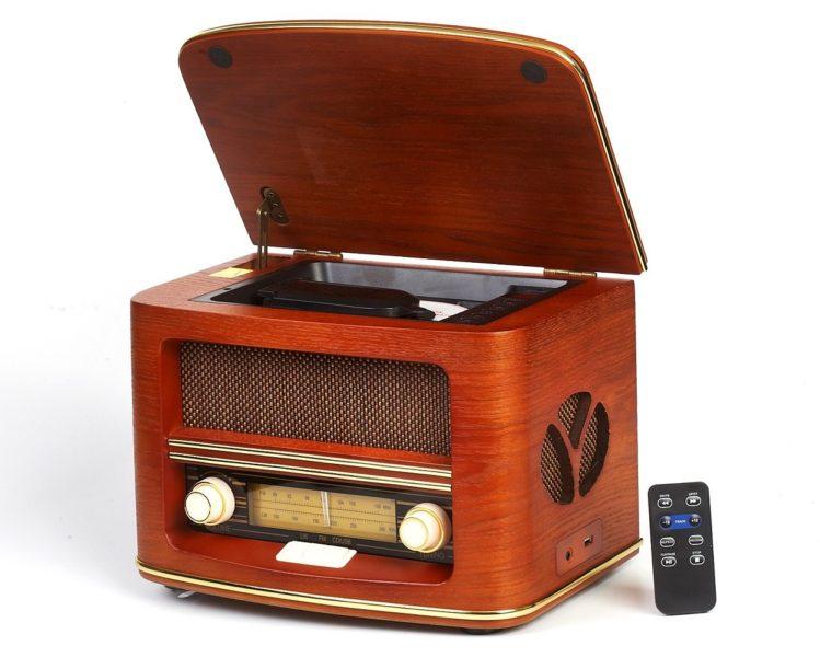 Vintage Radio, Retro Radio CD Spieler