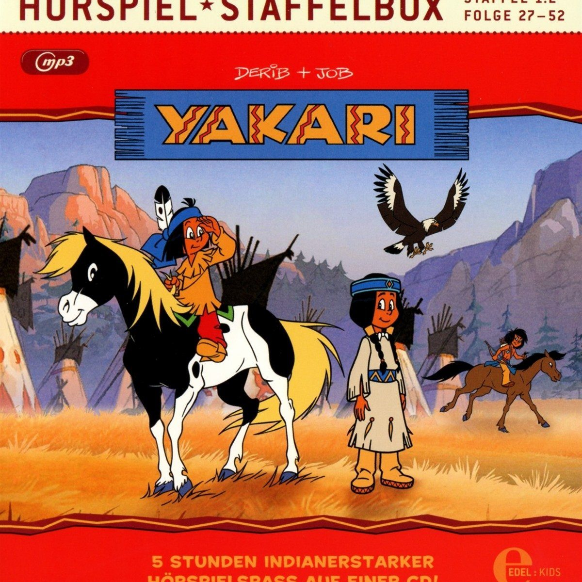 Yakari - Hörspiel Staffelbox - Staffel 1.2