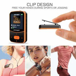 MP3 Bluetooth Clip Player Sport