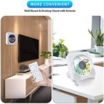 Tragbarer DVD/CD-Player, wandmontierbar Bluetooth-DVD-CD-Player,Eingebauter HiFi-Lautsprecher,Musik-Player mit Fernbedienung, HDMI für die TV-Verbindung, FM-Radio-USB-Player für den Heimgebrauch