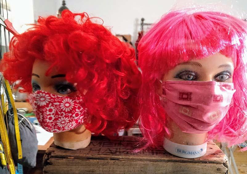 Der Corona-Effekt ... mit Masken