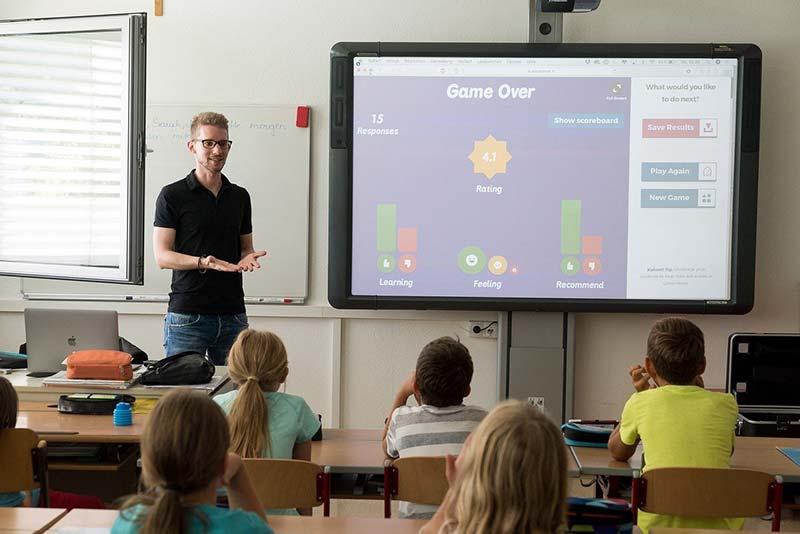 Digitales Klassenzimmer –